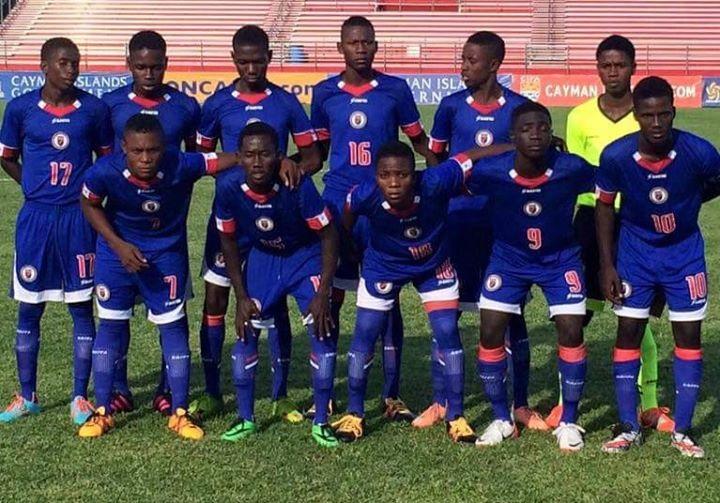 L'équipe de football haïtienne des moins de 17 ans de retour au pays avec son billet en poche…