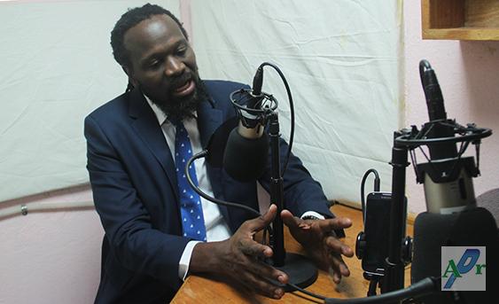 Antonio Chéramy dénonce, ce mercredi, la menace de mort proférée contre sa personne sur la cour du Parlement par un agent du CIMO